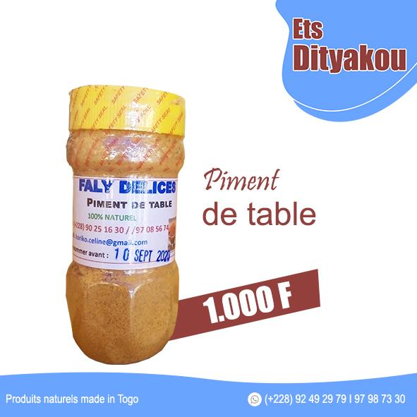 Piment de table ETS DITYAKOU